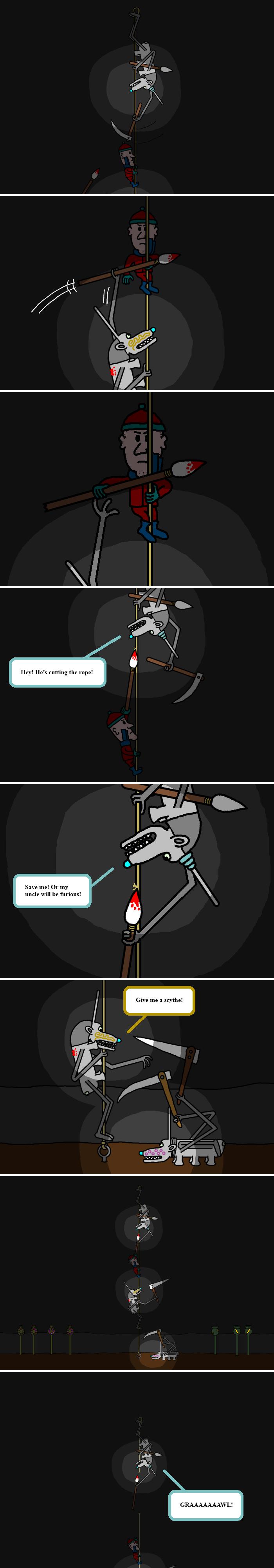 Give me a scythe