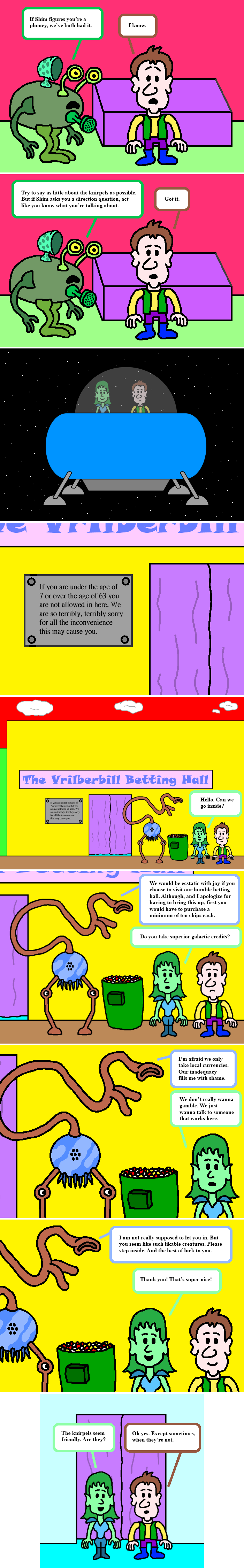 The Vrilberbill Betting Hall